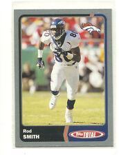2003 Topps Total Silver #11 Rod Smith Denver Broncos