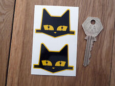 MARCHAL SEV Cats Head Classic Car STICKERS 50mm Pair Race Racing Bike Motorcycle