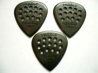 3 PickBoy POS-A-Grip Picks Plektren black, 1,00 mm