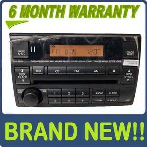NEW 05 2005 06 2006 NISSAN ALTIMA OEM RADIO CD PLAYER Receiver Black