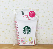 Free shipping ! NEW Starbucks JAPAN 2018 Frappuccino shape ring notebook