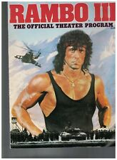 Rambo III Official Theater Magazine Sylvester Stallone 1988