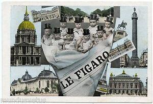 Children Multiple .bébés .le Figaro .paris .multiple Babies. Children. Newspaper