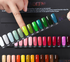 60 colors set Gel Nail Polish Soak off UV/LED Nail Art Pure Color Varnish 15ml