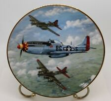 """Great Fighter Planes of Ww Ii Plate Collection, """"Old Crow"""", Plate No. 3877G"""