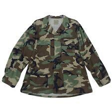 Battle Dress Uniform BDU Coat Woodland XL Long 8415-01-390-8552 CAMO Camouflage