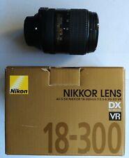 Nikon AF-S DX NIKKOR 18-300mm f/3.5-6.3G ED VR Lens for DSLR Camera 67mm w Box