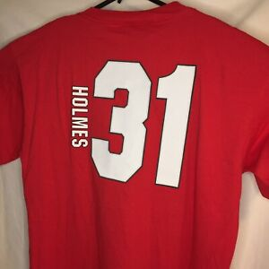 Kansas City Chiefs NFL Players Priest Holmes Jersey T-Shirt Men's Large New NWT