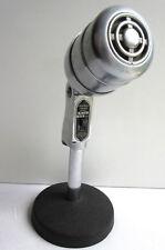 Microphone Art Déco modèle STROMBERG CARLSON, Made in USA, acier et pied fonte