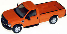 HO RIVER POINT STATION Orange Ford F-250 XL  : 1/87 Model Truck