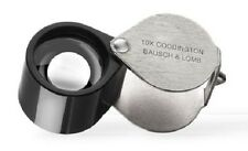 Bausch & Lomb Coddington Loupe 10X Magnifier Jeweler Coins Gems Stamps Rocks US