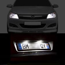 4 bombillas con LED BLANCO luces de posición+luces de placa Opel Astra H GTC/