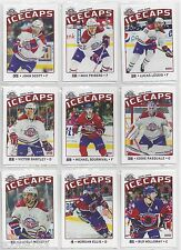 2015-16 St. John's IceCaps complete 12 card Update Set