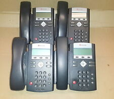 - lot of 4 Polycom SoundPoint IP 331 Digital IP Phone /w handset &stand ,no AC