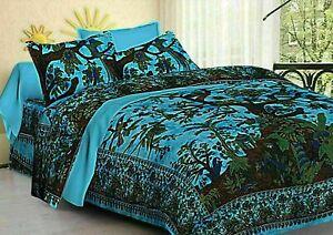 Indian Tree of Life Mandala Queen Size Bedding Quilt Set Donna Duvet Cover Set