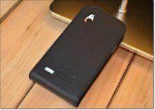 Akira HTC Desire X Handmade Echt Leder plegable funda protectora de piel flip Wallet