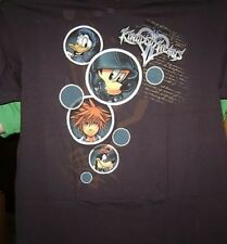 KINGDOM HEARTS 2 BUBBLES T-SHIRT XL X-LARGE NEW 3D DREAM DROP DISTANCE