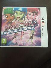 Monster High: Skultimate Roller Maze (3DS) PEGI 7+ Racing Booklet Tested Vgc