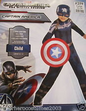 Captain America Winter Soldier Child Costume Marvel Comics Size Large 12-14 NWT