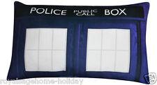 238528030 Doctor Who Tardis Cushion Pillow Time Machine Police Call Box BBC