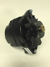 1928-1931 Ford Model A Black Painted Alternator and Pulley 6 Volt Positive Grnd