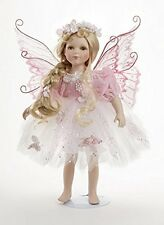 """Delton Products Porcelain Fairy Daffodil Doll, 16"""""""
