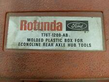 Ford Rotunda T76T-1200-AB Econoline Rear Axle Hub Special Service Tools Set