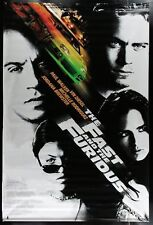 Original 1st of Series 2001 FAST & THE FURIOUS 5' x 8' 2 Sided Theatre Banner