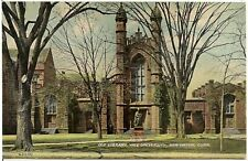 Old Library at Yale University in New Haven CT Postcard
