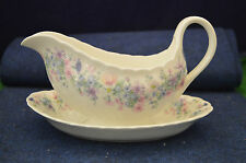Lovely Wedgwood Angela Bone China Gravy Boat With Saucer USC RD5270