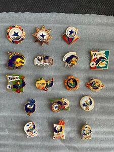 1996 Atlanta Paralympic Summer Games Pins Lot of 17, Blaze