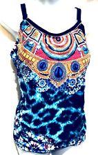 plus sz XXS/ 12 TS TAKING SHAPE Paradiso Tankini Top bathers swimwear NWT!