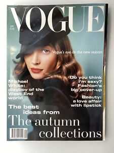 VOGUE MAGAZINE 1993 September COMPLIMENTARY GIFT WRAP Fast Dispatch