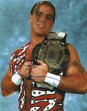 "Shawn Michaels WWE ""Wrestlemania"" WWF Signed Autographed 11x14 H"