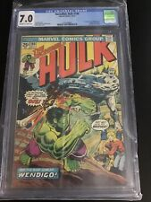 Incredible Hulk #180 CGC 7.0 Off White/White Pages 1st Wolverine/Cameo