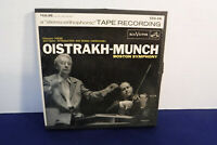 David Oistrakh/Charles Munch, Chausson, RCA CCS 16, SEALED 2 track 7.5 IPS Reel