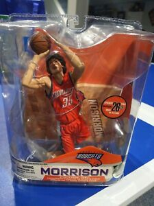 2007 MCFARLANE ADAM MORRISON CHARLOTTE BOBCATS NBA ROOKIE