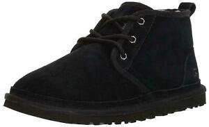 UGG Men's Neumel Boot Size 10 Black Brand new in box FAST SHIP