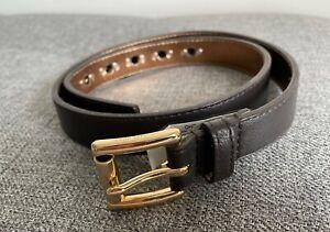 woman michael kors brown belt