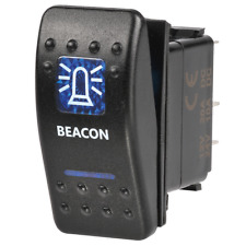 Narva Sealed Rocker Switch - Beacon Symbol (blue) Narva