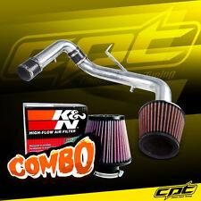 95-99 Eclipse Non-Turbo 2.0L 4cyl Polish Cold Air Intake + K&N Air Filter