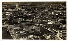 Gloucester. J.Reynolds' Wheatmeal Bread Flour Mills Aerial View.