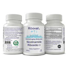 Ribovail Nicotinamide Riboside Chloride NAD+ Blood Serum Booster Supplement