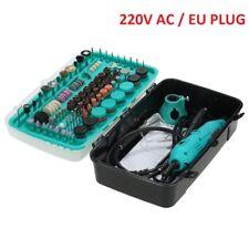 228pcs Drill Electric Grinder Engraver EU & Flex Shaft Variable Speed For Dremel