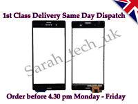 New Sony Xperia Z3 D6603 D6643 D6653 Touch Screen Digitizer Glass Lens Black