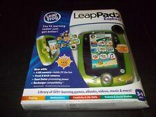 Leap Frog Leapfrog LeapPad2 Explorer Disney Green Kids Toy Tablet New Sealed