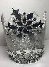 Handmade Glinda The Good Witch / Princess / Queen Jeweled Crown Adult Size