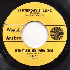 CHAD & JEREMY Yesterday's Gone USA 1964 Vinyl Single  JOHN BARRY Brit Invasion