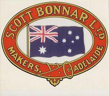 Scott Bonnar Supercut  Vintage Mower Oval Decal