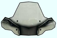 PowerMadd 24571 ProTEK Windshield for ATV Standard Mount  - Clear black graphics